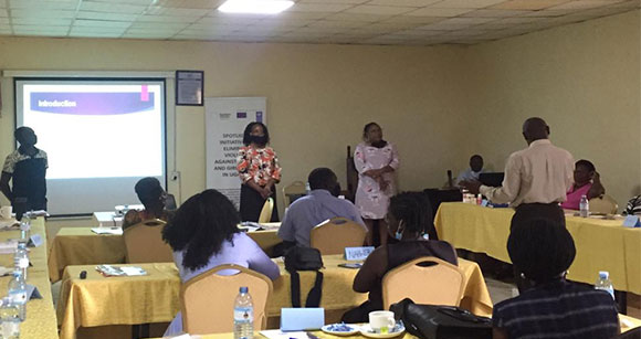 Photo of PSFU in partnership with UNDP-Uganda  workshop